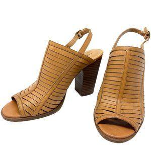 Lucky Brand Jorelie Tan Slingback Sandals